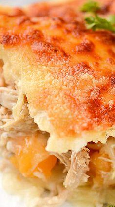 Chicken & Butternut Squash Lasagna
