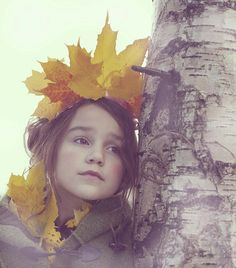 Leaf Crown #Nature  #child.