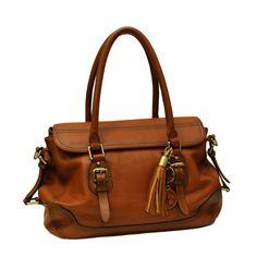 d405201516be Concealed Carrie Concealed Firearm Satchel Handbag (Brown)