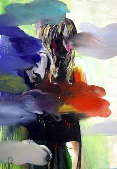 "Saatchi Art Artist Hanna Ilczyszyn; Painting, ""Rainbow clouds"" #art"