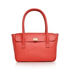 Tiffany & Co. | Allee satchel in poppy grain leather