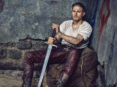 Charlie Hunnam Looks Hot As King Arthur For 'Entertainment Weekly'