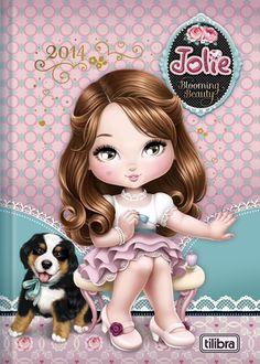 Jolie (cabelos castanhos)