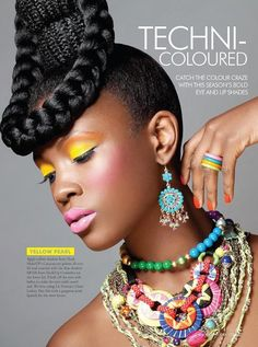 Ok Magazine Nigeria issue 2    Hair: Angela Plummer   Photographer: Abi Oshodi   MUA: Joy Adenuga assisted by Erika Thomas Mua  Stylist - Lauren Miller