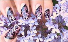 Easy And Elegant Nail Art Design With Black Lace – Click video and see something you haven´t seen before!