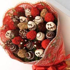 Buquê de flores de chocolate                                                                                                                                                     Mais