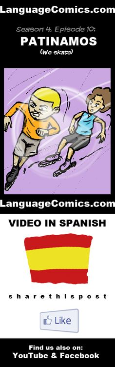 Practice your pronunciation and learn #Spanish with this episode and many more. Enjoy and share!  http://www.youtube.com/watch?v=dZ8mVI2zkxQ  ---------------------------------------------  Also find us on http://www.Facebook.com/LanguageComics and http://www.YouTube.com/LanguageComicsTeam