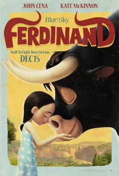 Built to fight. Born to love. The new #Ferdinand trailer arrives TOMORROW!