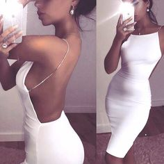Victoria Diamond Strap Dress