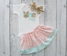 Some Bunny is One Shabby Chic First Birthday by noellebydesign