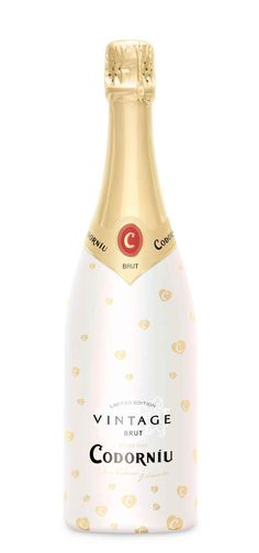 Codorniu vintage brut #cava by Butterfly Cannon, UK #packaging