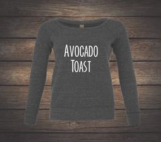 A personal favorite from my Etsy shop https://www.etsy.com/listing/498171396/avocado-toast-off-the-shoulder