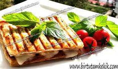 Milföy Hamurundan Pratik Çıtır Tost Tarifi