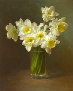 Dmitry Sevryukov - Narcissus, oil on canvas, 2010, 16 x 20