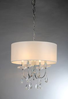 Shop Warehouse of Tiffany Alexandria Crystal 4 Light Chandelier at Loweu0027s Canada. Find our selection of chandeliers at the lowest price guaranteed with ... & Found it at Wayfair - Villa 3 Light Foyer Pendant | Light me up ... azcodes.com