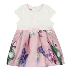 c3ac07ad7f809 Baker by Ted Baker  Baby girls  light pink floral print dress