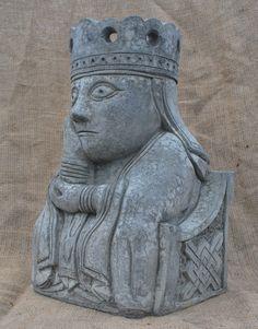 Giant Queen chess piece | eBay  Garden ornament