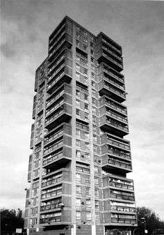 British Tower Blocks - SkyscraperCity - virtually a replica of the one I grew up in (DG)