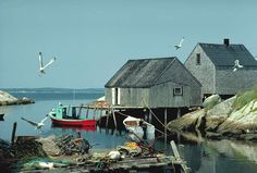 Picture Peggys Cove Nova Scotia Canada Free interactive atlas with photos, facts, links and maps from around the world O Canada, Canada Travel, Nova Scotia, Quebec, Wonderful Places, Beautiful Places, Places To Travel, Places To Go, Outlander