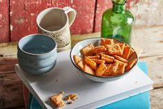 Sajtos keksz, a bulik kihagyhatatlan kelléke Sweet Potato, Potatoes, Vegetables, Desserts, Food, Meal, Potato, Deserts, Essen