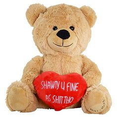 Hollabears Shawty U Fine As Shit Tho Teddy Bear - Funny a... https://www.amazon.com/dp/B00P279412/ref=cm_sw_r_pi_dp_x_K0WFzbSS1JM09