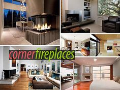 Awesome Corner Fireplaces Design Ideas www.bedhomes.com