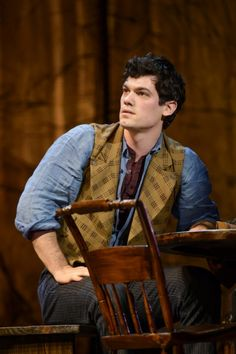 Robert Lenzi as Miles Tuck in the World Premiere of Tuck Everlasting. Broadway Plays, Broadway Theatre, Musical Theatre, Broadway Shows, Musicals Broadway, Tuck Everlasting Musical, Finding Neverland