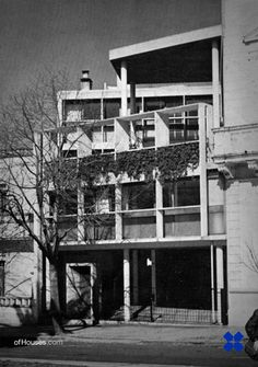 149. Le Corbusier /// Curuchet House /// La Plata, Buenos Aires, Argentina - 1949-1953 OfHouses guest curated by Besonias Almeida. (Photos 1-9 © qepd, madhseason, Ø-d, Agustin Girbal Azparren,...