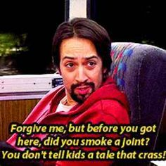 """It's Time To Revisit The """"HIMYM"""" Episode Where """"Hamilton"""" Star Lin-Manuel Miranda Rapped On A Bus"""