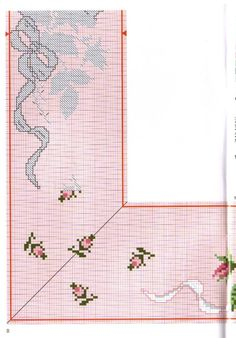 Gallery.ru / Фото #34 - 63 - benji67 Cute Cross Stitch, Cross Stitch Rose, Cross Stitch Flowers, Cross Stitch Charts, Cross Stitch Embroidery, Cross Stitch Patterns, Mantel Redondo, Fantasy Cross Stitch, Mini Roses