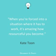 In this episode of the Dreamers & Doers podcast, hear from Queen of SEO Kate Toon as she talks about going self employed and diversifying your career. Going Self Employed, Words Quotes, Wise Words, Craft Quotes, Marketing Quotes, Influencer Marketing, Getting Things Done, Writing A Book, Content Marketing