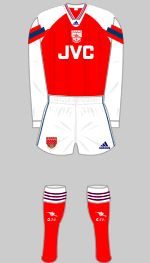 0292761227e Arsenal Home Kit 1992-1994 When I see this one I think of Paul Merson