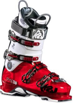 O Red Ski Boots: SpYne 130 Ski Boots - Men's - After having a horrible fitting experience in the Nordica Fire Arrow boots, I am going to try out these boots. Ski And Snowboard, Snowboarding, Ski Ski, Ski Boots, Hiking Boots, Winter Boots, Botas Ski, Ski Equipment, Snow Gear