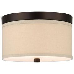 Philips Embarcadero 2-Light Sorrel Bronze Ceiling Fixture-F131720 - The Home Depot