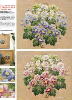 """Gallery.ru / Фото #6 - пара милых букетиков """"azul & rosa"""" - Lilek1965"""