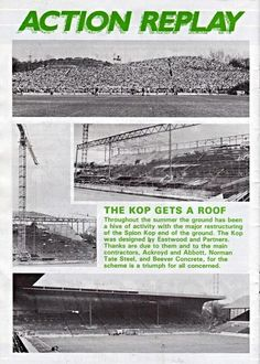 Action Replay....The Kop gets a roof | #swfc | #wawaw