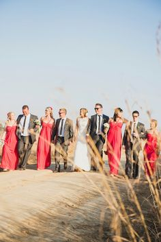Winter wedding in Underberg  , coral and gold