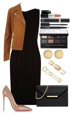 Untitled #1246 by fabianarveloc on Polyvore featuring polyvore fashion style BOSS Hugo Boss River Island Christian Louboutin MICHAEL Michael Kors Marc by Marc Jacobs Forever 21 NARS Cosmetics Tom Ford MAC Cosmetics clothing