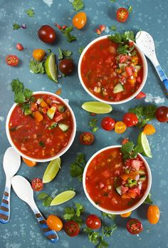 Best Gazpacho soup Recipes is Among the Favorite soup Recipes Of Several People Round the World. Besides Easy to Create and Excellent Taste, This Best Gazpacho soup Recipes Also Healthy Indeed. Best Gazpacho Soup Recipe, Fresh Tomato Gazpacho Recipe, Mexican Food Recipes, Soup Recipes, Vegetarian Recipes, Cooking Recipes, Healthy Recipes, Food Photography