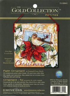 Free Copy of Pattern - Faith Ornament