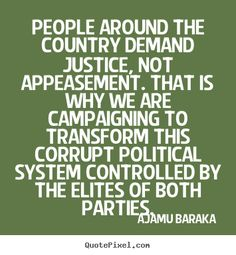 Ajamu Baraka , Read more at http://www.ajamubaraka.com/blog/2016/9/2/are-you-surprised-by-the-response-of-the-dccc
