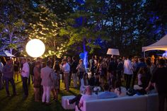 DREAM SCENE ON THE GREENS AT THE GREY GOOSE SUMMER SOIRÉE.