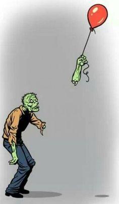 Aw.... poor Zombie.