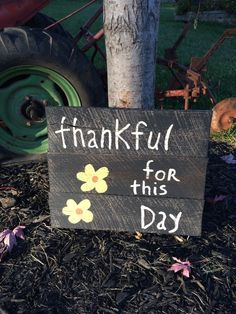 Wood sign from Say It On Barnwood on Facebook, $25