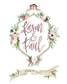 Wedding Crest Illustration by Shannon Kirsten