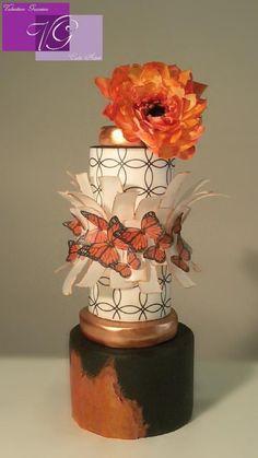 Monarch Butterfly  - Cake by Valentina Graniero