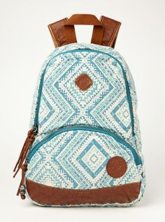 $44.00 Great Outdoors Mini Backpack - Roxy-  Realizing the best bag to have while chasing after a toddler might be a backpack.