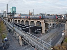 - Restoration of the viaduct arches, Zurich A great urban renewal project that breathes new life to a previously derelict infrastructural barrier. Photos (C) Roger Frei.