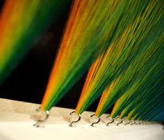 Gabriel Dawe, Plexus no. 10, The National Centre for Craft and Design, 2011