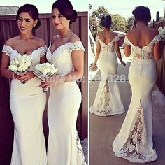 Find More Bridesmaid Dresses Information about New Deaign Vestidos Floor Length Short Sleeve Sexy V Neck Appliques Backless Mermaid Long Bridesmaid Dresses 2015 Free Shipping,High Quality bridesmaid dress manufacturers,China dress crystal Suppliers, Cheap dresses for big breasted women from Rose Wedding Dress Co., Ltd on Aliexpress.com